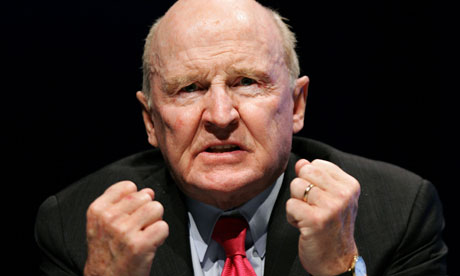 Former General Electric chairman Jack Welch